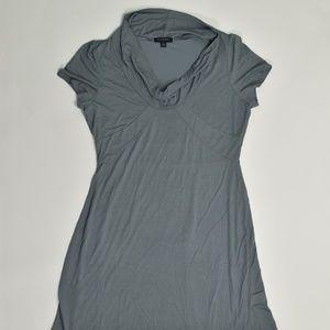 Banana Republic Regular L Blue   A-Line Dress Cott